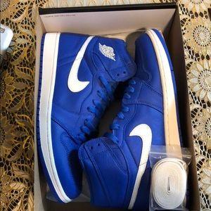 Air Jordan 1's Hyper Blue!